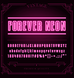 font tmp vector image vector image