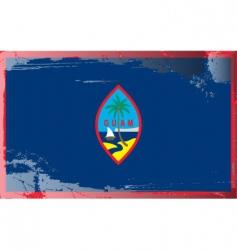 guam national flag vector image