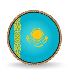 Kazakhstan seal vector