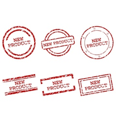 New product stamps vector image vector image