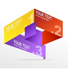 speech templates for text vector image