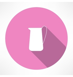 Carafe icon vector