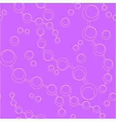 Seamless ornament circle in color 55 vector image