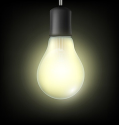 Light bulb stock vector