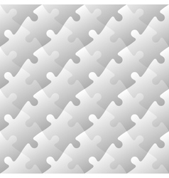 Jigsaw puzzle mosaic seamless background vector