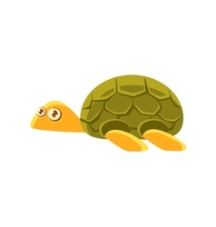 Turtle Toy Exotic Animal Drawing vector image vector image