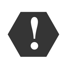 Attention caution warning symbol design vector