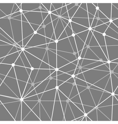 abstract black and white net seamless background vector image