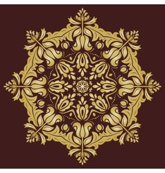 Orient pattern abstract ornament vector