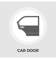 Car door flat icon vector