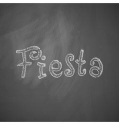 Fiesta icon vector