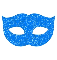 Privacy mask grainy texture icon vector