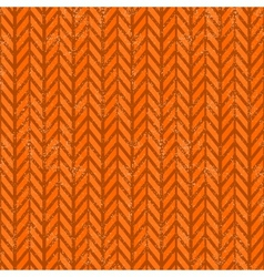 Seamless grunge chevron pattern vector
