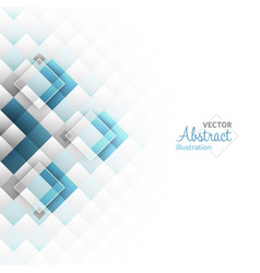 Abstract background square shapes vector