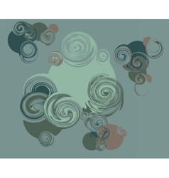 Abstract circles pattern background vector