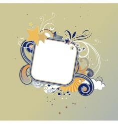 Funky frame vector