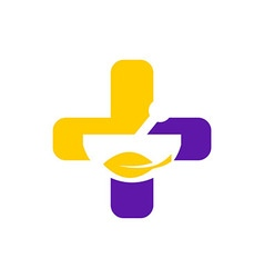 Health medical logo vector
