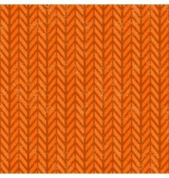 Seamless grunge chevron pattern vector
