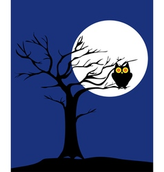 Tree owl vector