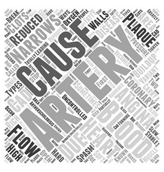 What causes angina word cloud concept vector