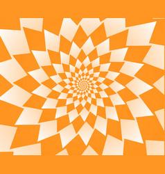 Abstract orange geometric background wallpaper vector
