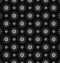 Seamless pattern of symbolic stars 9 vector