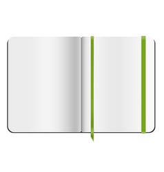 Copybook template vector