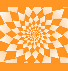Abstract orange geometric background wallpaper vector