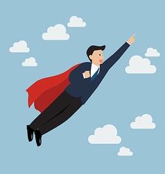 Businessman Super Hero vector image vector image