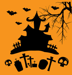 Hallowen party vector