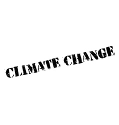 Climate change rubber stamp vector