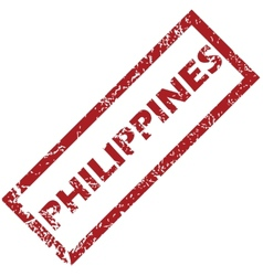 New philippines rubber stamp vector