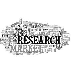 Are you ready to research your market text word vector