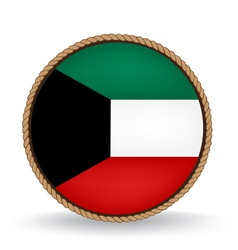 Kuwait seal vector