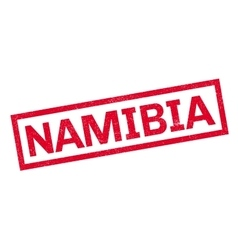 Namibia rubber stamp vector