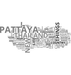 Are you ready to retire in pattaya text word vector