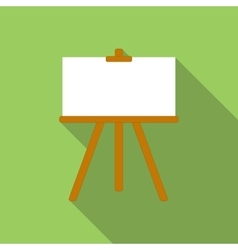 Canvas flat icon vector