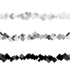 Repeatable abstract square pattern text rule line vector
