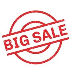 Big Sale rubber stamp vector image