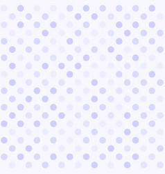 polka dot pattern seamless dot background vector image