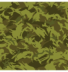 Jungle camouflage seamless pattern vector image