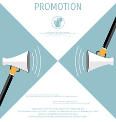 Promotion concept vector