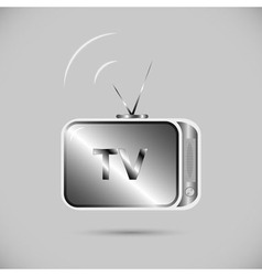 Icon of television vector