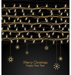 Christmas Light vector image vector image