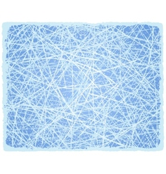 Ice grunge background with lines vector