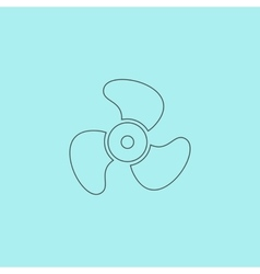 Propeller icon - vector