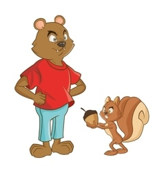 Animal design Cartoon icon Colorful vector image
