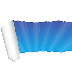 Paper And Rays vector image