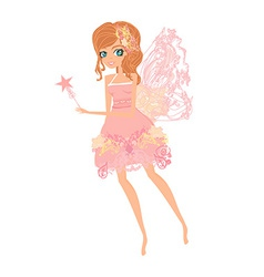 Beautiful fairy graphic vector