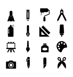 Art tool icon vector